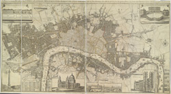 A New & accurate PLAN of the CITIES of LONDON & WSTMINSTER & BOROUGH of SOUTHWARK